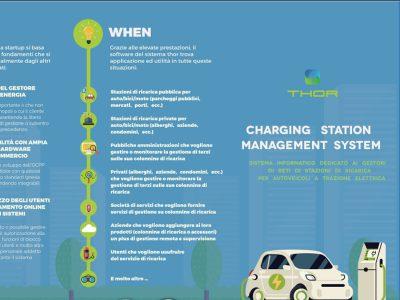 Flyer THOR - Sistema di gestione colonnine di ricarica